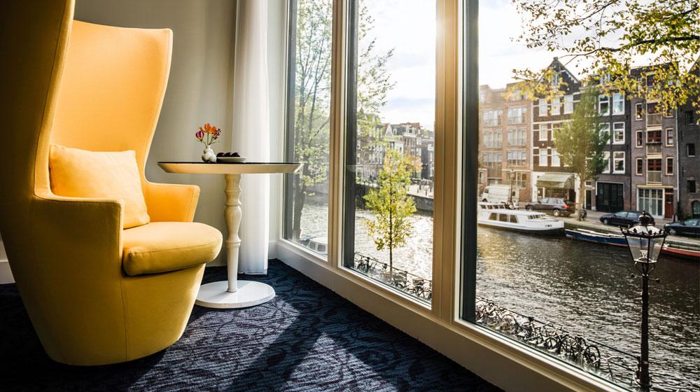Review de l'Andaz Amsterdam, Prinsengracht